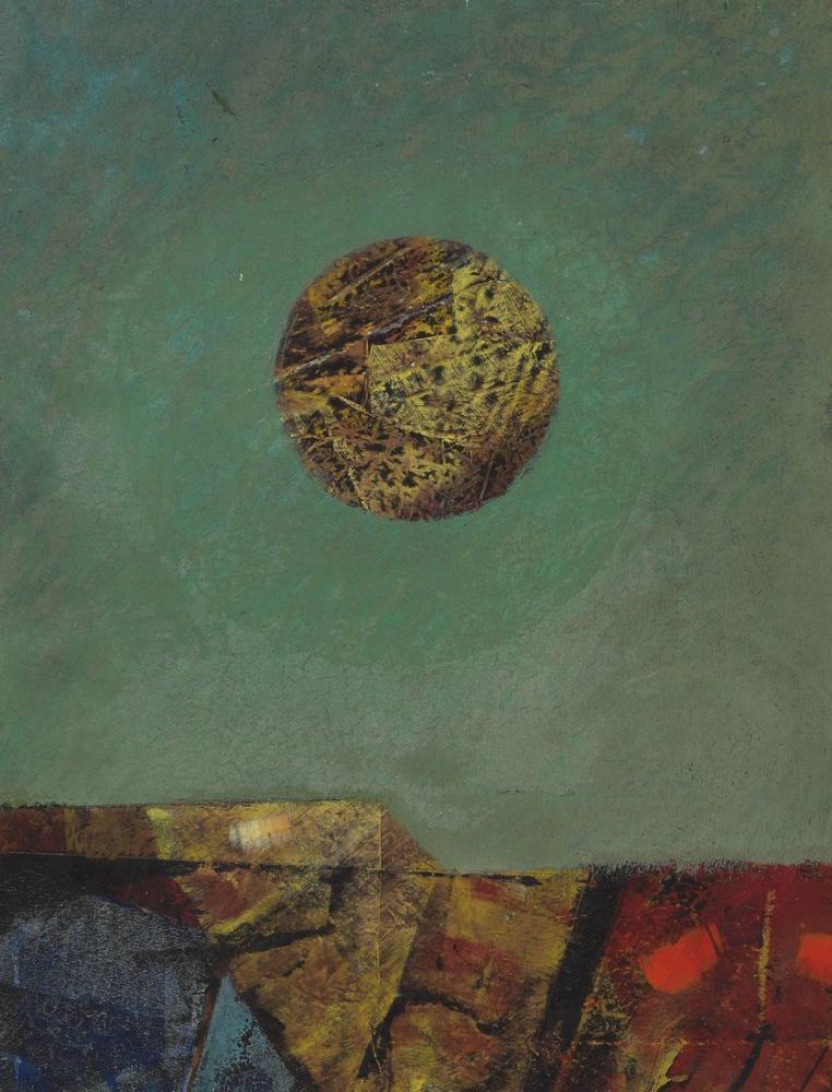 Max Ernst Ay İle Manzara, Figür, Max Ernst, kanvas tablo, canvas print sales