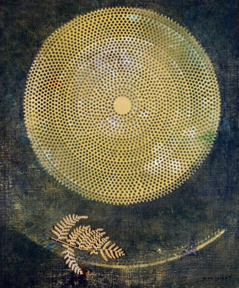 Max Ernst Çağlar Boyunca Sessizlik, Kanvas Tablo, Max Ernst, kanvas tablo, canvas print sales