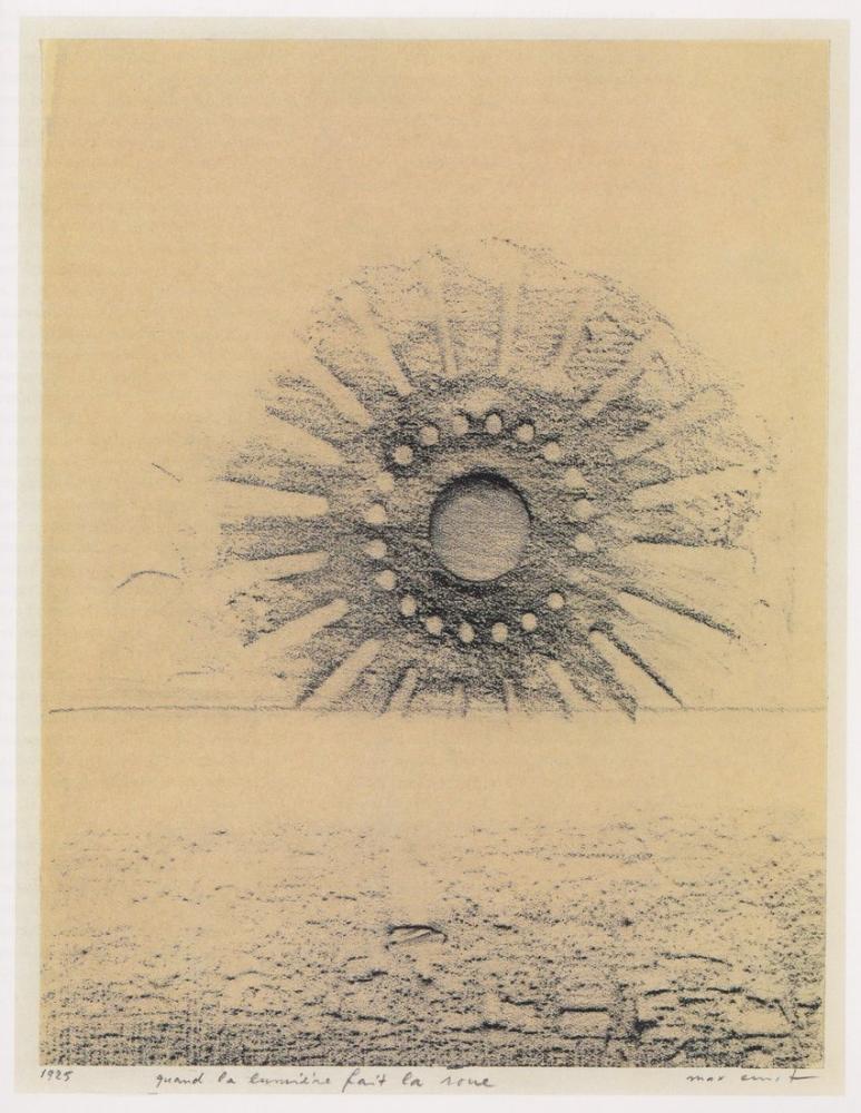 Max Ernst Hafif Araba Tekerlekleri Sürerken, Kanvas Tablo, Max Ernst, kanvas tablo, canvas print sales