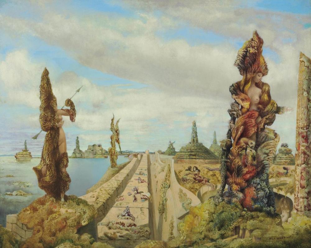 Max Ernst Çalıntı Ayna, Kanvas Tablo, Max Ernst, kanvas tablo, canvas print sales