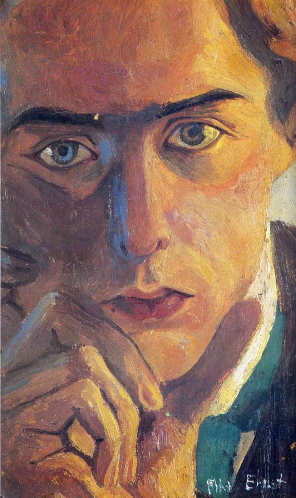 Max Ernst Otoportre, Kanvas Tablo, Max Ernst, kanvas tablo, canvas print sales