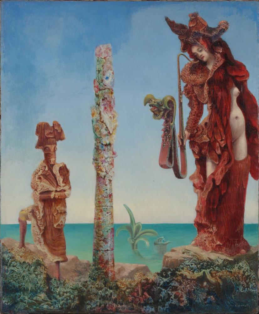 Max Ernst Vahşi Doğada Napolyon, Kanvas Tablo, Max Ernst, kanvas tablo, canvas print sales