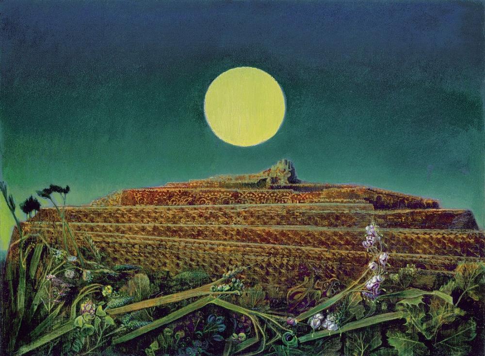 Max Ernst Bütün Şehir, Kanvas Tablo, Max Ernst, kanvas tablo, canvas print sales