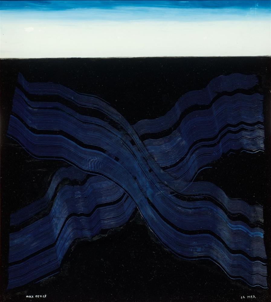 Max Ernst Deniz IV, Kanvas Tablo, Max Ernst, kanvas tablo, canvas print sales