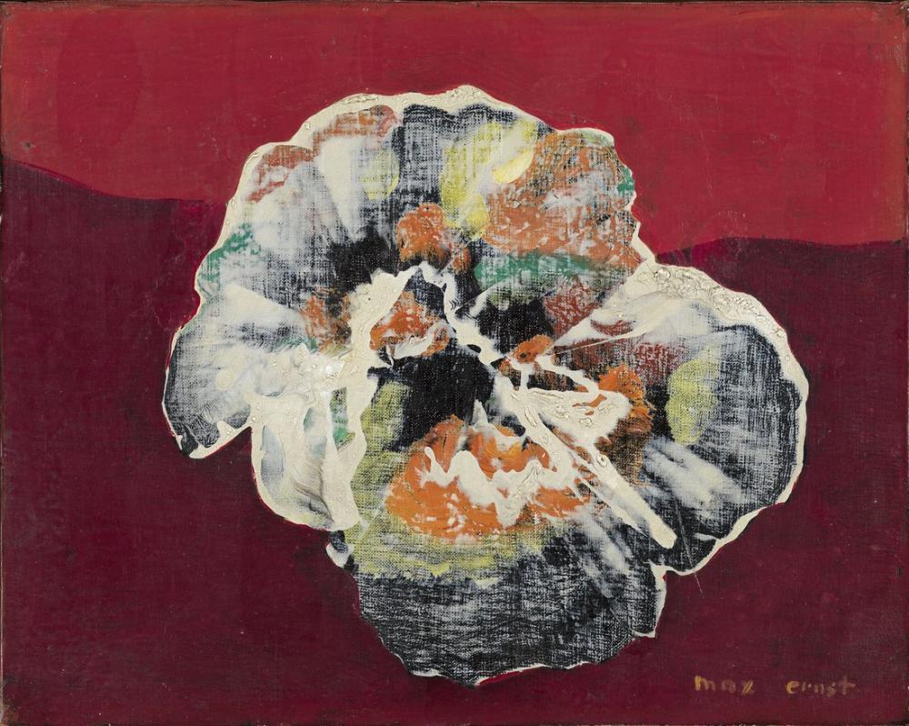 Max Ernst Çiçek Kabuğu, Kanvas Tablo, Max Ernst, kanvas tablo, canvas print sales