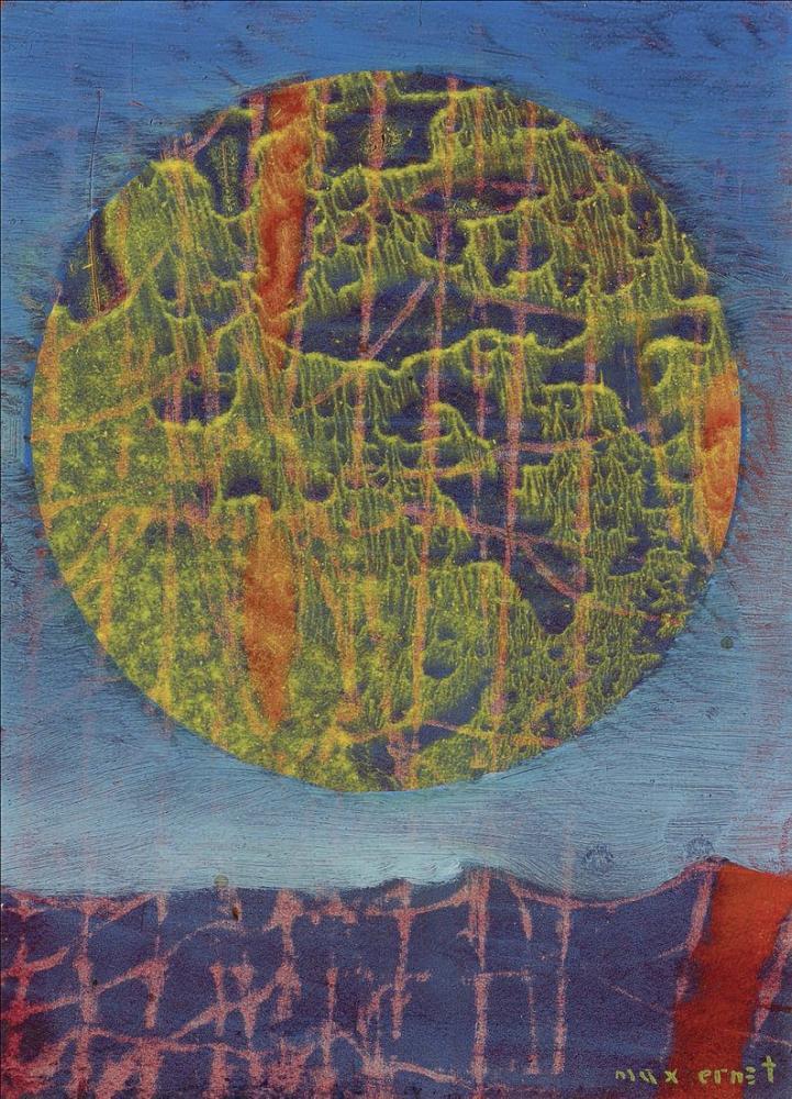 Max Ernst Le Soleil Sur Terre, Figure, Max Ernst, kanvas tablo, canvas print sales