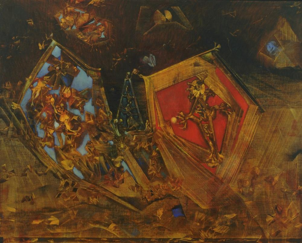 Max Ernst The World Is A Story, Canvas, Max Ernst, kanvas tablo, canvas print sales