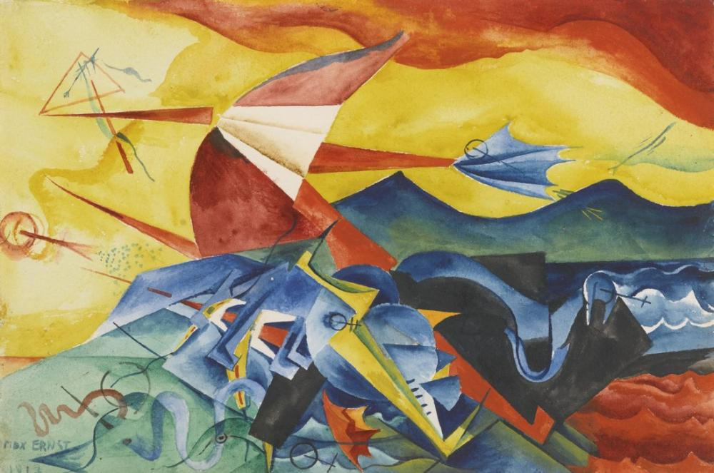 Max Ernst Composition, Canvas, Max Ernst, kanvas tablo, canvas print sales