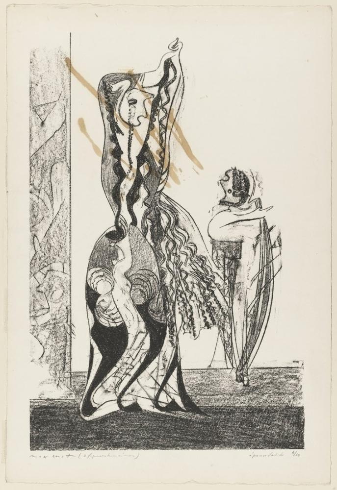 Max Ernst Dansçı, Figür, Max Ernst, kanvas tablo, canvas print sales