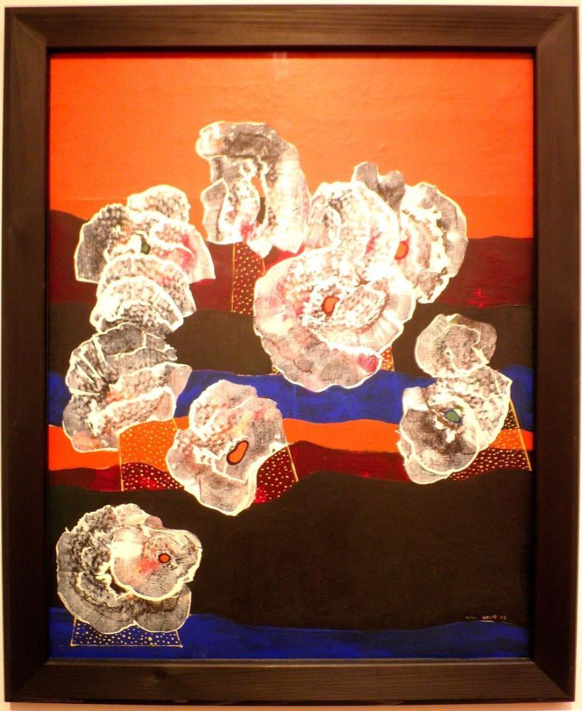 Max Ernst Kabuk Çiçek, Kanvas Tablo, Max Ernst, kanvas tablo, canvas print sales