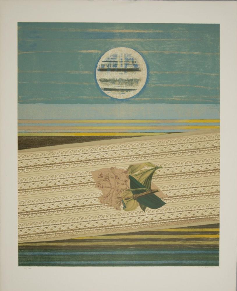 Max Ernst Deniz Ve Güneş, Kanvas Tablo, Max Ernst, kanvas tablo, canvas print sales
