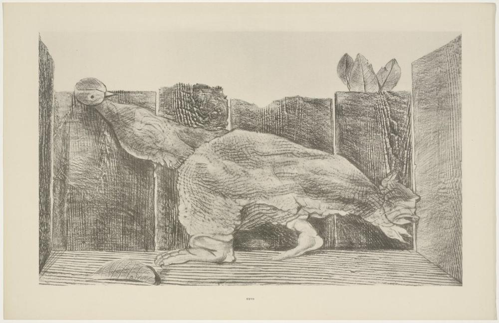 Max Ernst In The Stable Of The Sphinx, Canvas, Max Ernst, kanvas tablo, canvas print sales