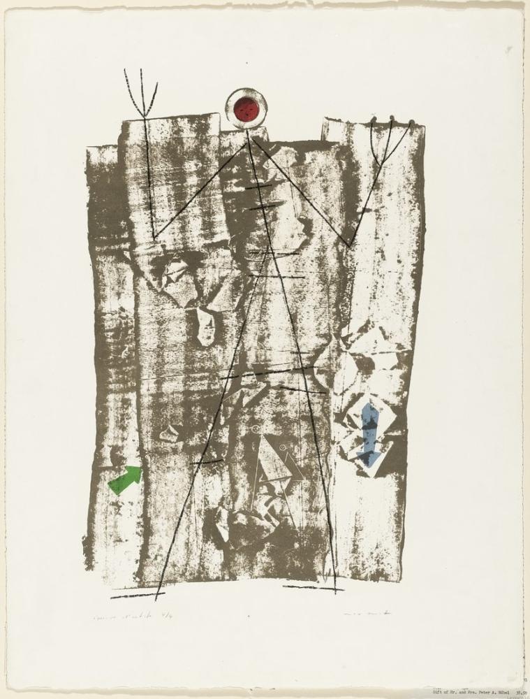 Max Ernst Ormanda Saklanan Adam, Figür, Max Ernst, kanvas tablo, canvas print sales