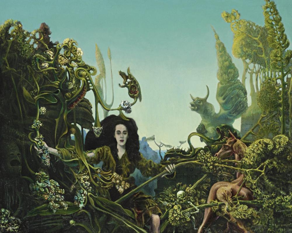 Max Ernst Leonora Sabah Işığında, Kanvas Tablo, Max Ernst, kanvas tablo, canvas print sales