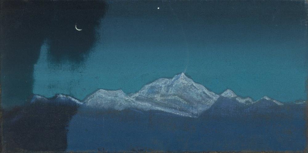 Nicholas Roerich, Himalayas, Sikkim, Canvas, Nicholas Roerich, kanvas tablo, canvas print sales