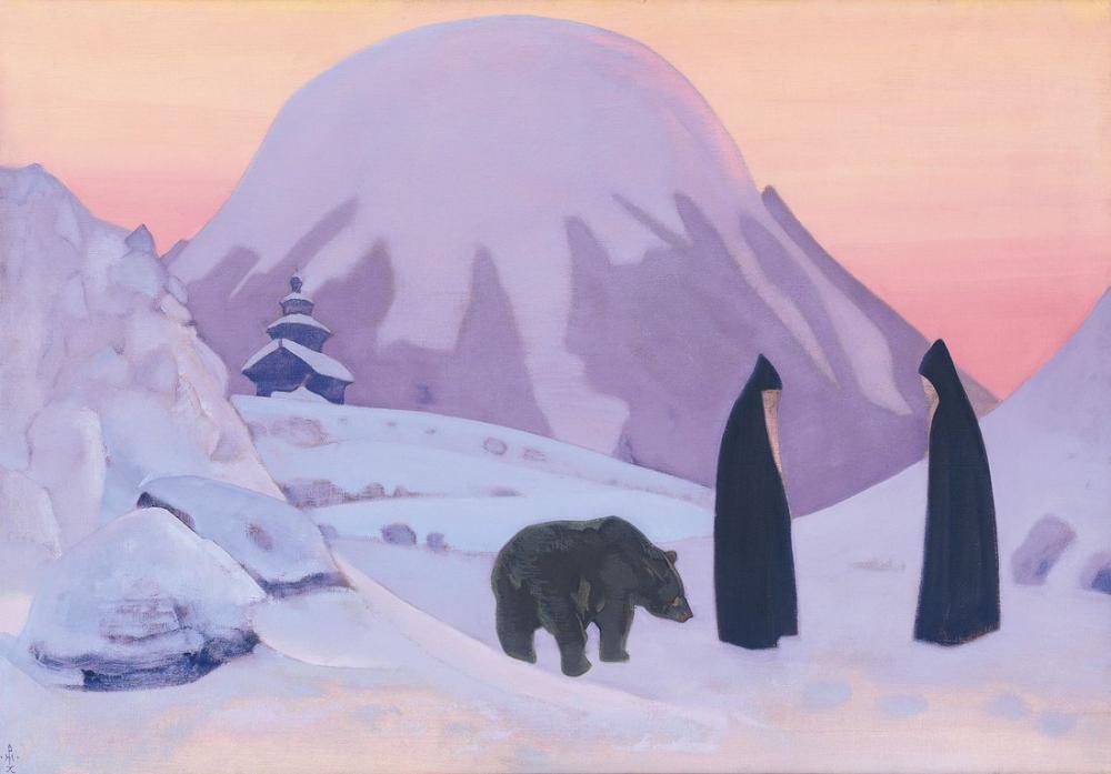 Nicholas Roerich ve Korkmuyoruz, Figür, Nicholas Roerich, kanvas tablo, canvas print sales