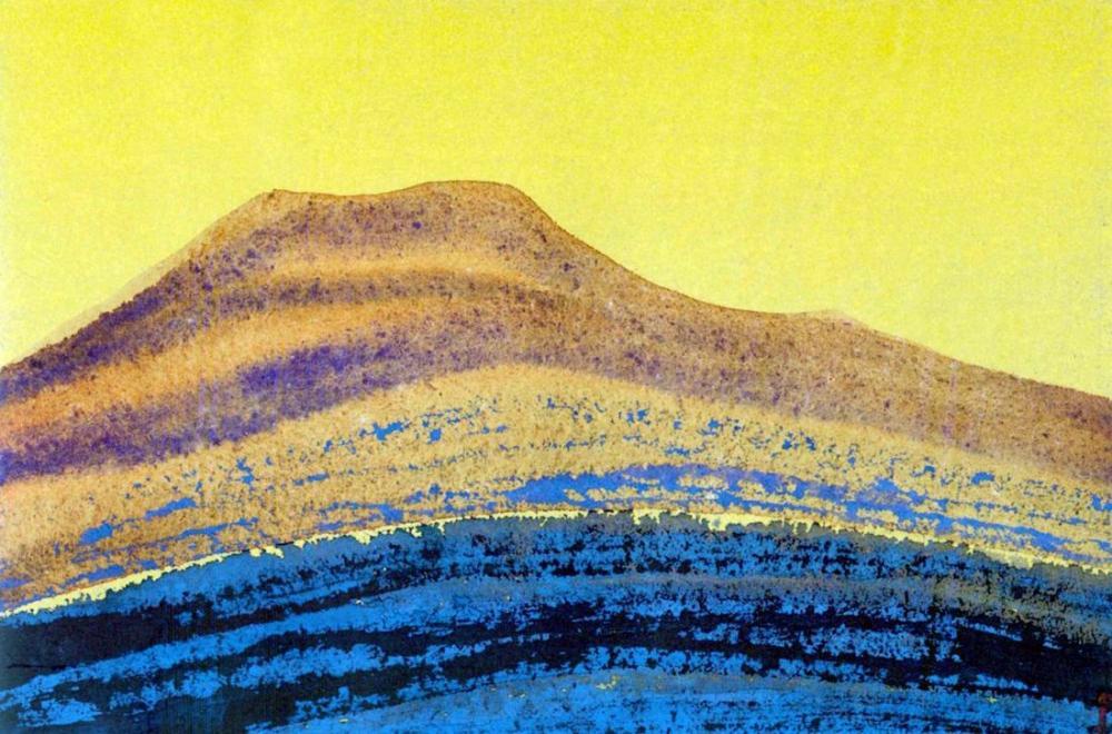 Nicholas Roerich, Mountain path Himalayas, Canvas, Nicholas Roerich, kanvas tablo, canvas print sales