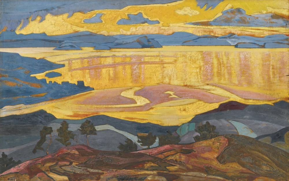 Nicholas Roerich, Before the Rain, Canvas, Nicholas Roerich, kanvas tablo, canvas print sales