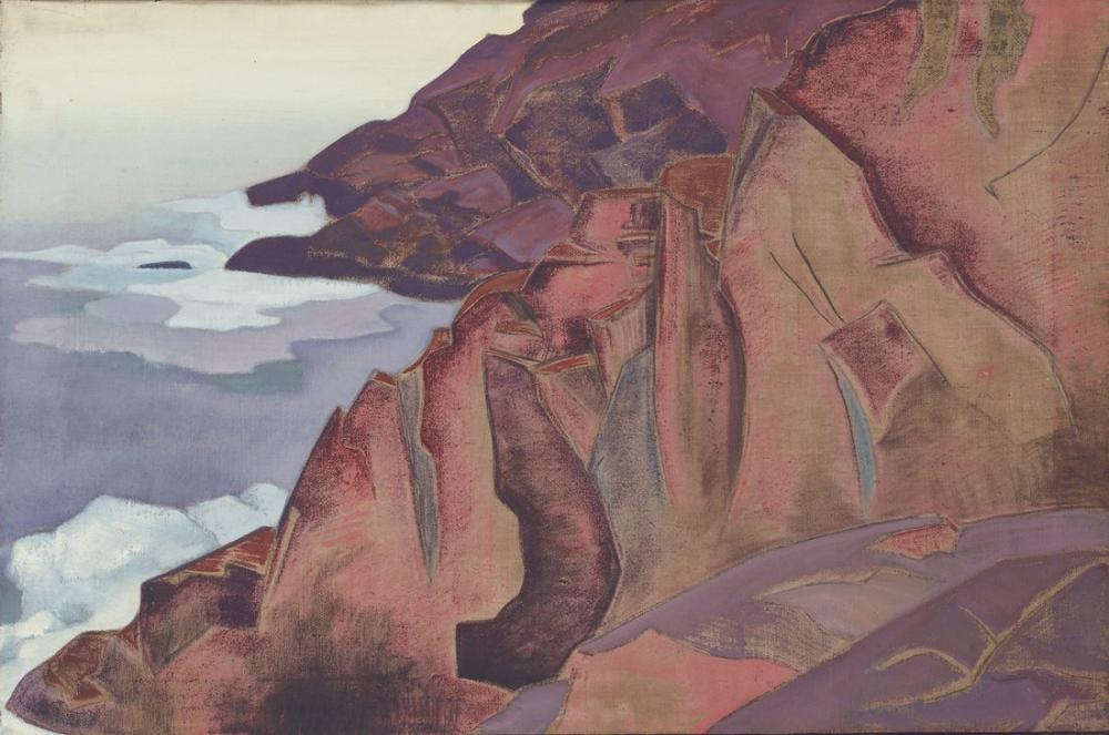 Nicholas Roerich, Monhegan, Kanvas Tablo, Nicholas Roerich, kanvas tablo, canvas print sales