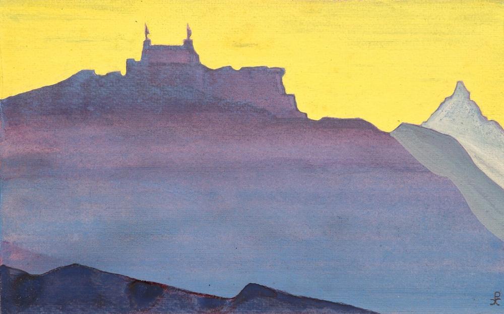 Nicholas Roerich, Sissu Lahaul, Canvas, Nicholas Roerich, kanvas tablo, canvas print sales