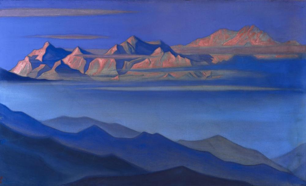 Nicholas Roerich, Shambala, Kanvas Tablo, Nicholas Roerich, kanvas tablo, canvas print sales