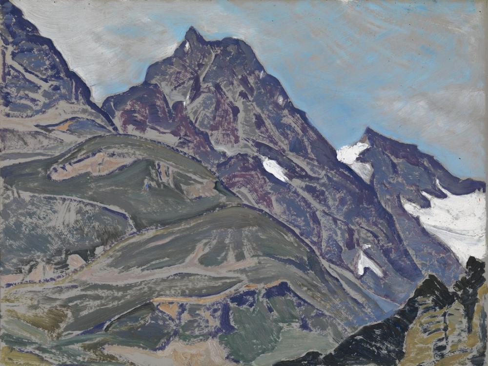 Nicholas Roerich, Dağların Efendisi, Kanvas Tablo, Nicholas Roerich, kanvas tablo, canvas print sales