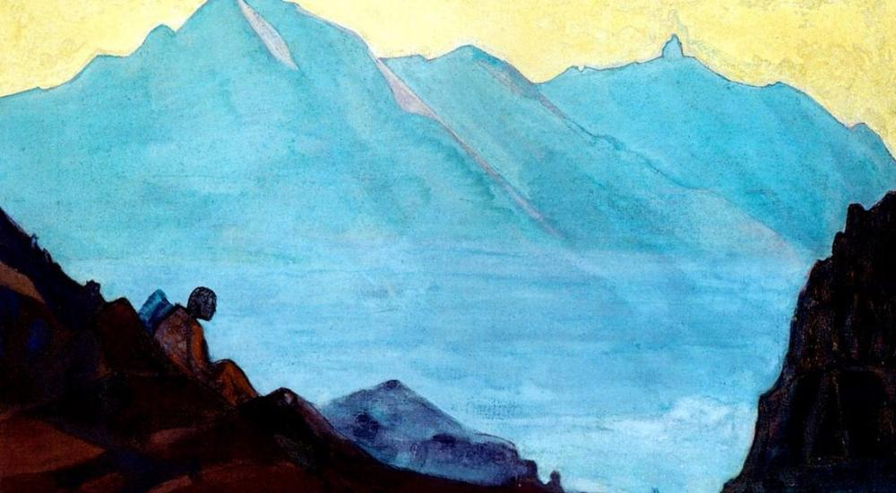 Nicholas Roerich, Mountain of Spiritual Rest, Canvas, Nicholas Roerich, kanvas tablo, canvas print sales