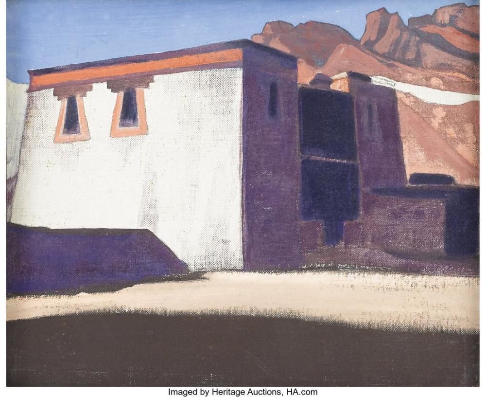 Nicholas Roerich, Kėdainiai, Eski Ahşap Kilise, Kanvas Tablo, Nicholas Roerich, kanvas tablo, canvas print sales