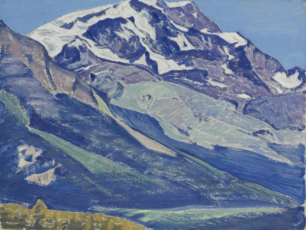 Nicholas Roerich, St Moritz From The Switzerland Series, Canvas, Nicholas Roerich, kanvas tablo, canvas print sales