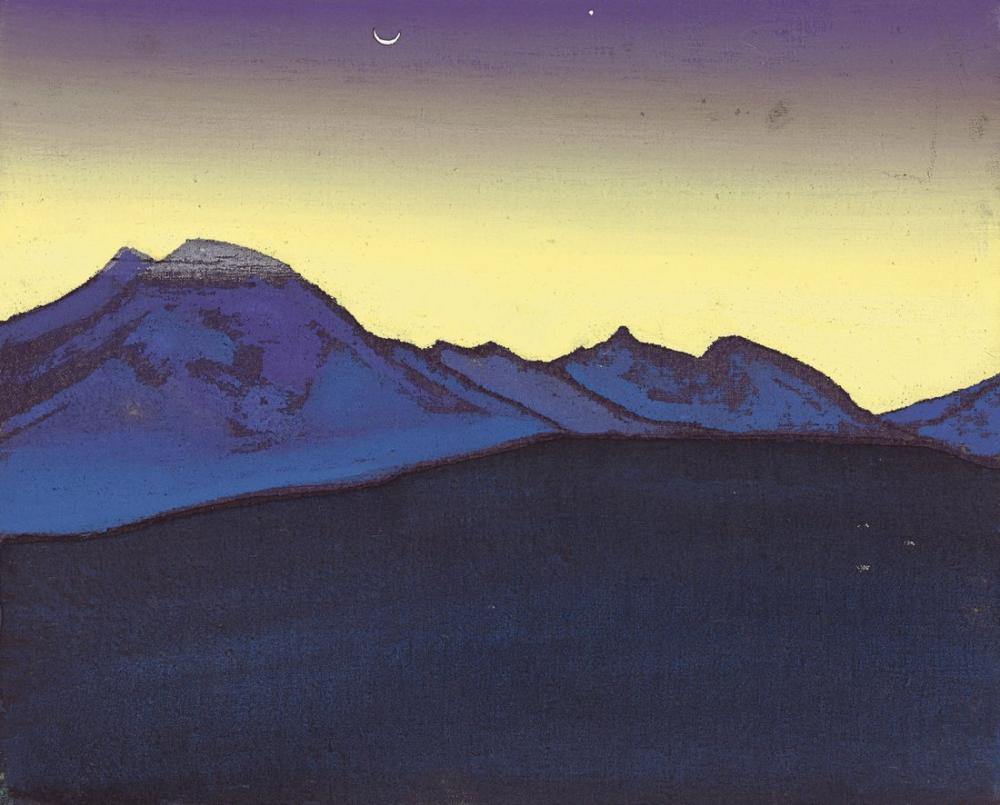 Nicholas Roerich, Kara Gobi, Kanvas Tablo, Nicholas Roerich, kanvas tablo, canvas print sales