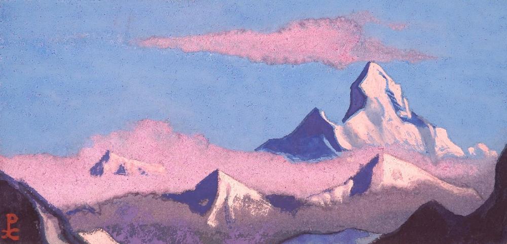 Nicholas Roerich, Nanda Devi, Kanvas Tablo, Nicholas Roerich, kanvas tablo, canvas print sales