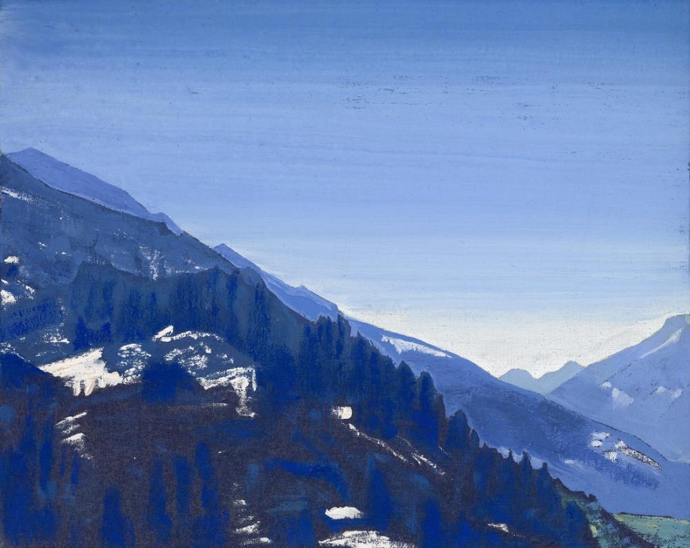 Nicholas Roerich, Kulu Vadisi, Kanvas Tablo, Nicholas Roerich, kanvas tablo, canvas print sales