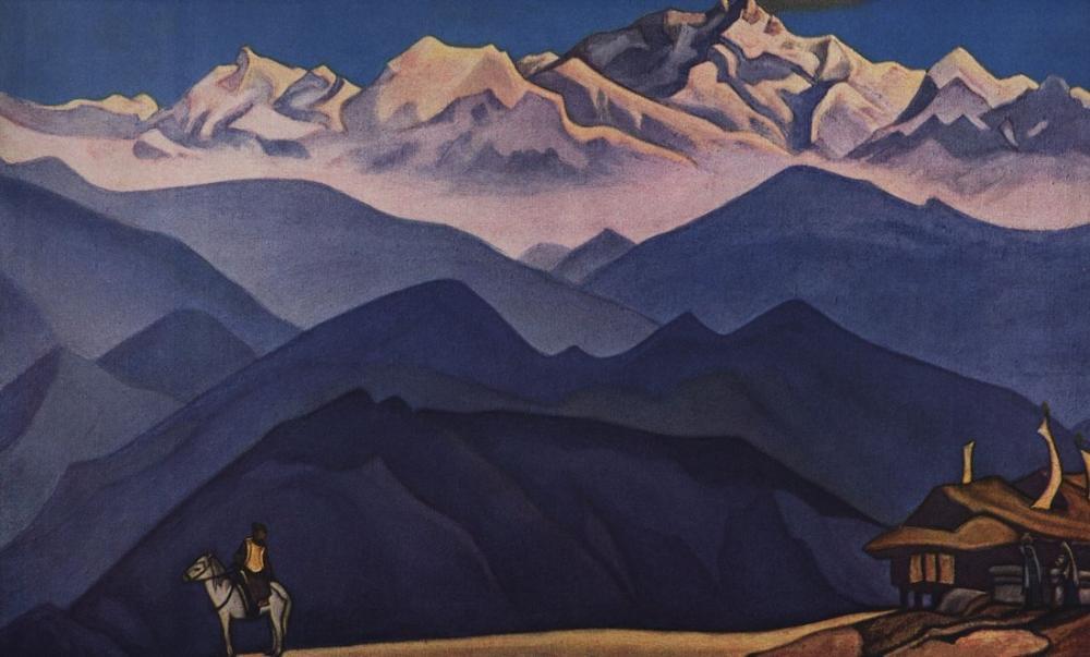 Nicholas Roerich, Havrita, Kanvas Tablo, Nicholas Roerich, kanvas tablo, canvas print sales