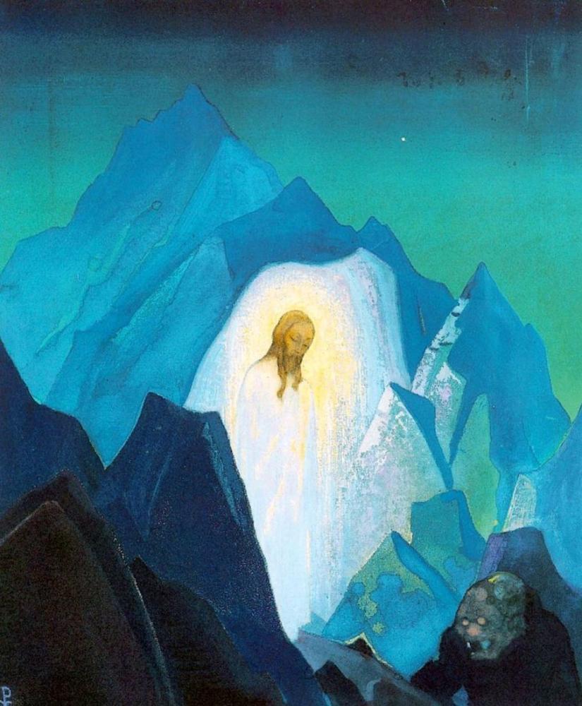 Nicholas Roerich, Christ, Canvas, Nicholas Roerich, kanvas tablo, canvas print sales