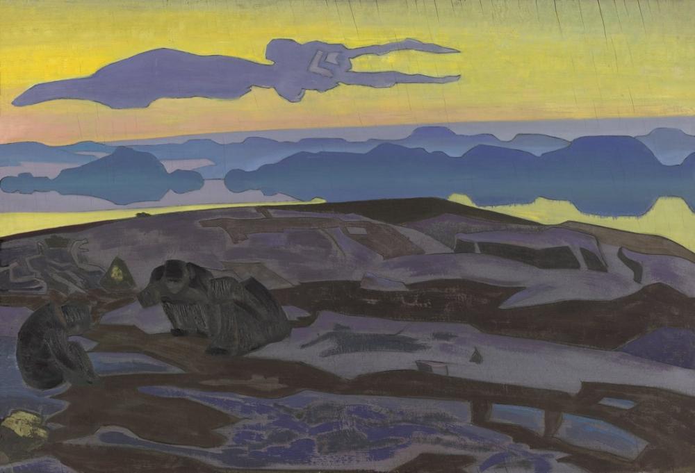 Nicholas Roerich, Karar, Figür, Nicholas Roerich, kanvas tablo, canvas print sales