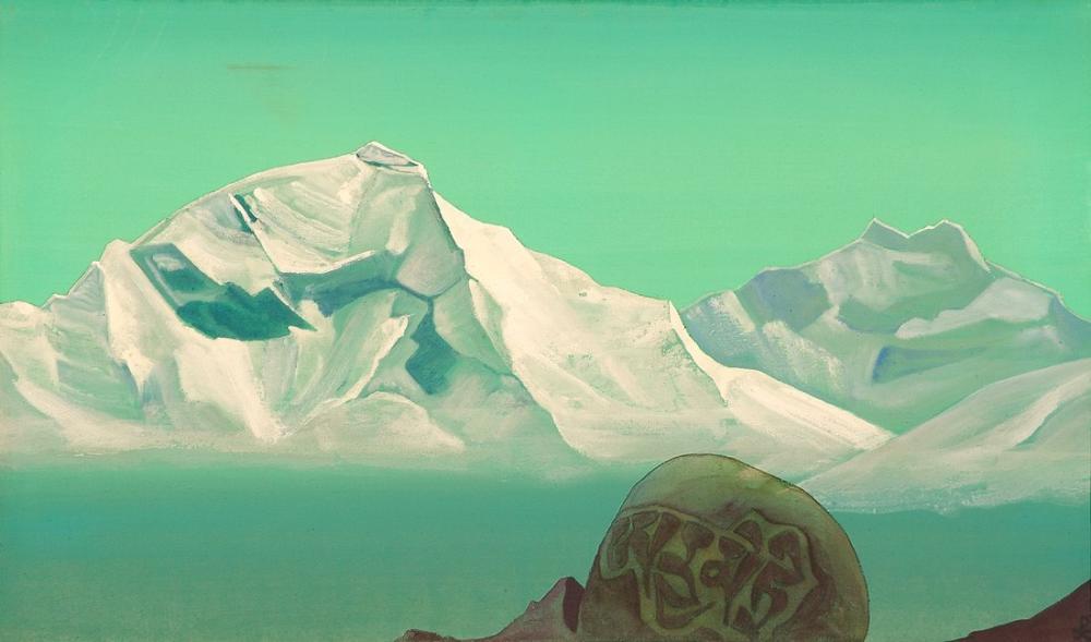 Nicholas Roerich, Kailas a Giden Yol, Kanvas Tablo, Nicholas Roerich, kanvas tablo, canvas print sales