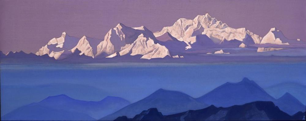 Nicholas Roerich, Kanchenjunga, Kanvas Tablo, Nicholas Roerich, kanvas tablo, canvas print sales