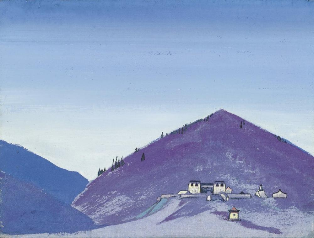 Nicholas Roerich, Manjushri Khit, Moğolistan, Kanvas Tablo, Nicholas Roerich, kanvas tablo, canvas print sales