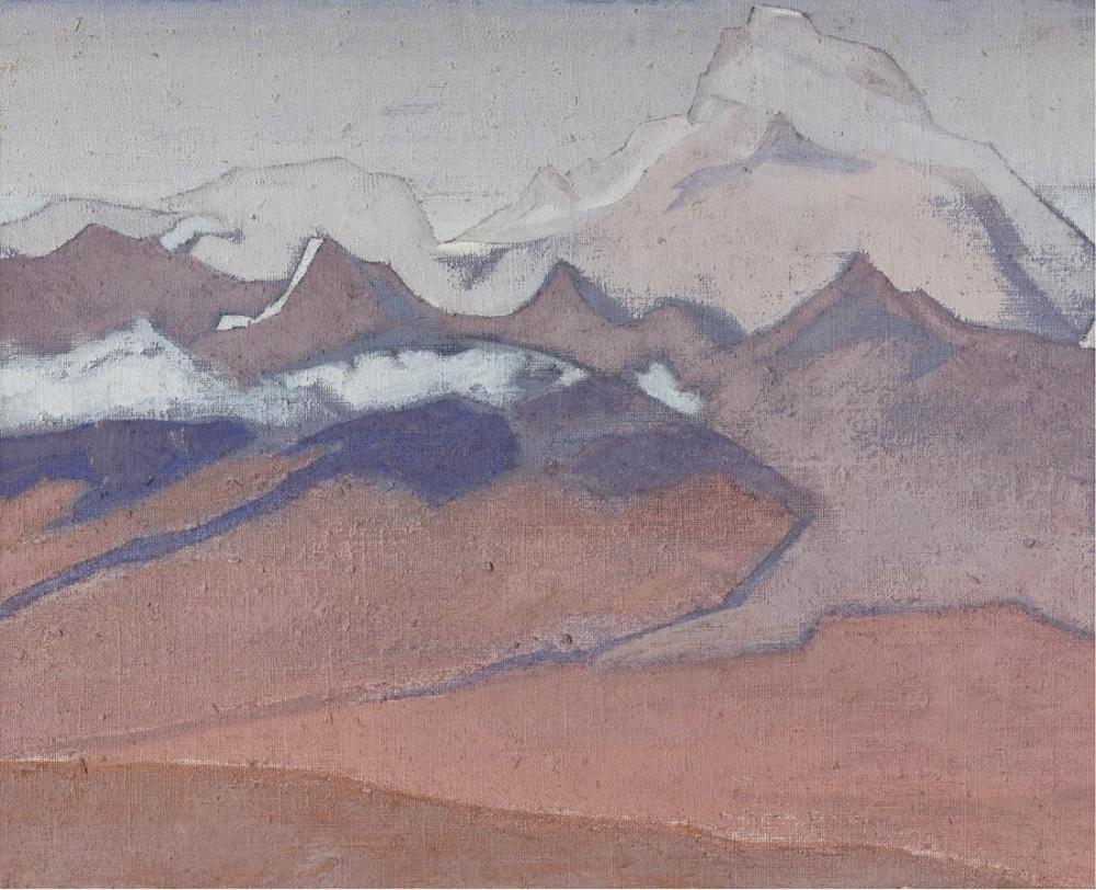 Nicholas Roerich, Shekar Dzong Yolunda, Kanvas Tablo, Nicholas Roerich, kanvas tablo, canvas print sales