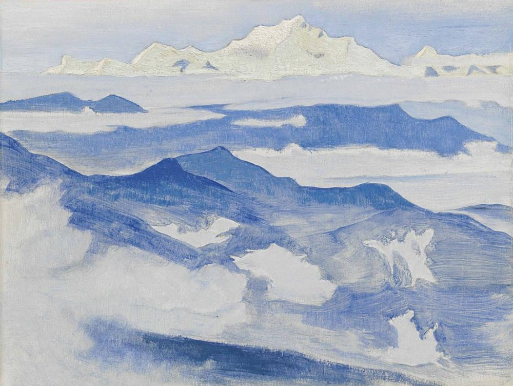 Nicholas Roerich, Evening from the Himalayan, Canvas, Nicholas Roerich, kanvas tablo, canvas print sales