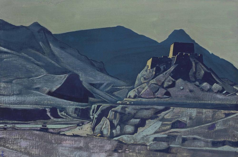 Nicholas Roerich, Kutsal Alanlardan Tapınaklar ve Kaleler, Kanvas Tablo, Nicholas Roerich, kanvas tablo, canvas print sales