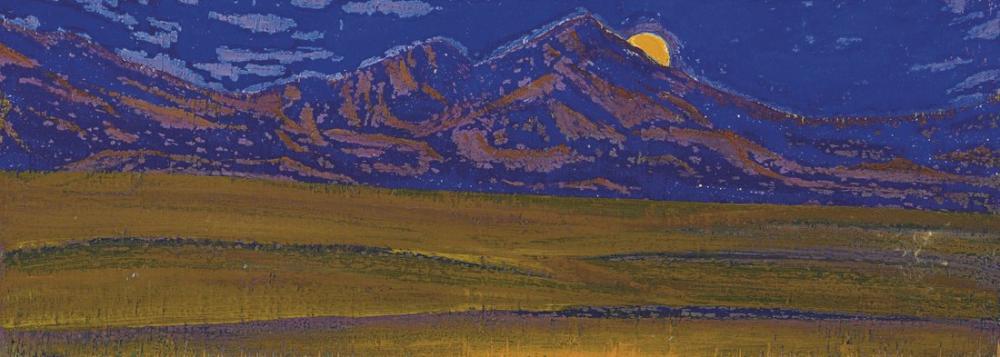 Nicholas Roerich, Taklamakan, Çin Türkistan, Kanvas Tablo, Nicholas Roerich, kanvas tablo, canvas print sales