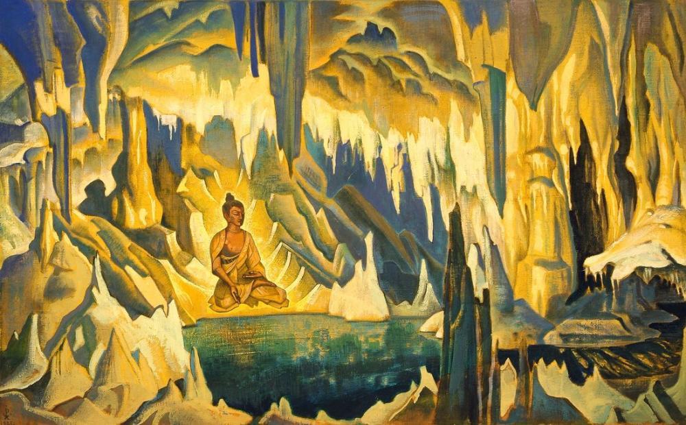 Nicholas Roerich, Buddha, Canvas, Nicholas Roerich, kanvas tablo, canvas print sales