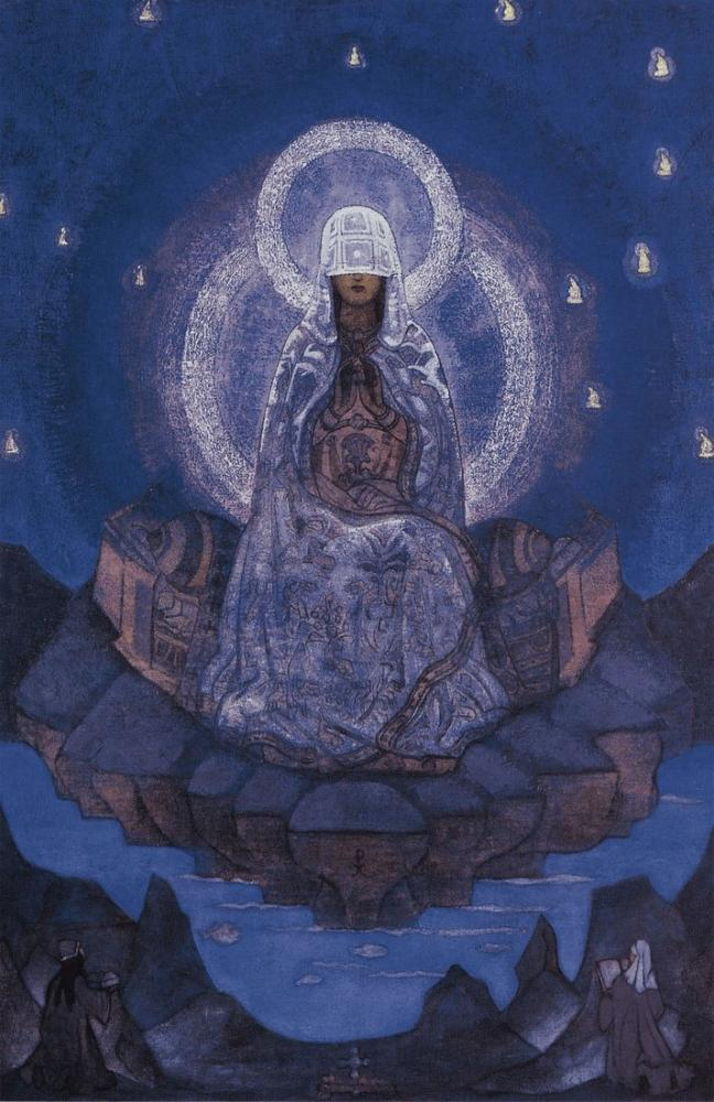Nicholas Roerich, Mother of the World, Canvas, Nicholas Roerich, kanvas tablo, canvas print sales