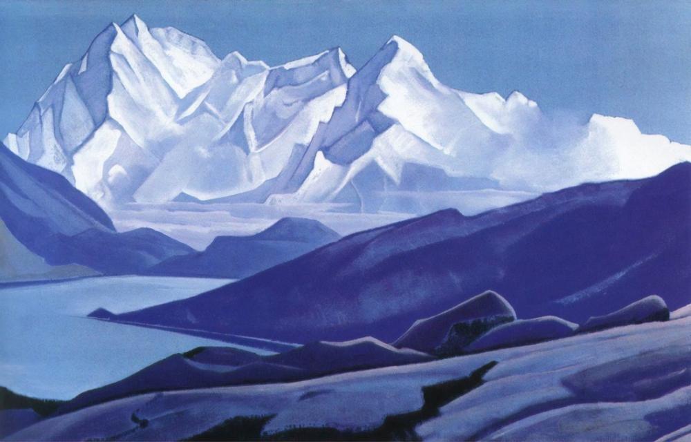 Nicholas Roerich, Kutsal Himalayalar, Kanvas Tablo, Nicholas Roerich, kanvas tablo, canvas print sales
