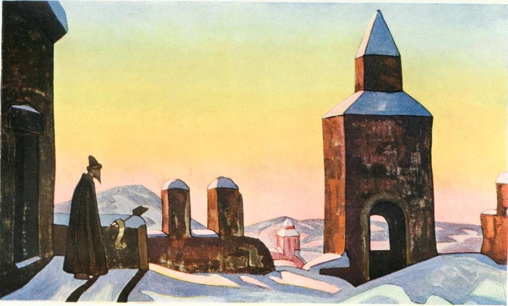 Nicholas Roerich, Legends, Traditions, Beliefs, Canvas, Nicholas Roerich, kanvas tablo, canvas print sales
