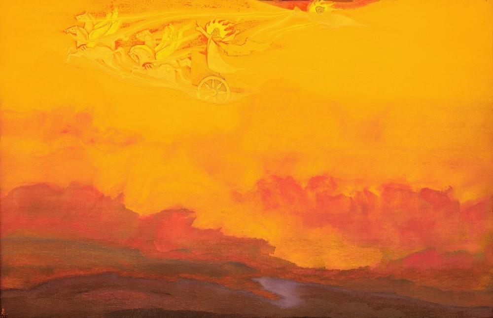 Nicholas Roerich, Peygamber İlyas, Kanvas Tablo, Nicholas Roerich, kanvas tablo, canvas print sales