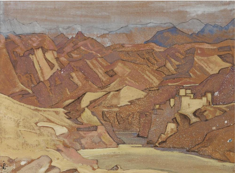 Nicholas Roerich, Kutsal Alanlar ve Kale, Kanvas Tablo, Nicholas Roerich, kanvas tablo, canvas print sales