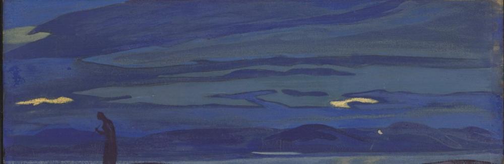 Nicholas Roerich, Oklarla Prenses, Kanvas Tablo, Nicholas Roerich, kanvas tablo, canvas print sales