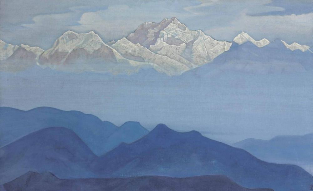 Nicholas Roerich, Himalayas from the Sikkim Series, Canvas, Nicholas Roerich, kanvas tablo, canvas print sales